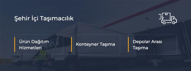 Şehir İçi Taşımacılık İstanbul