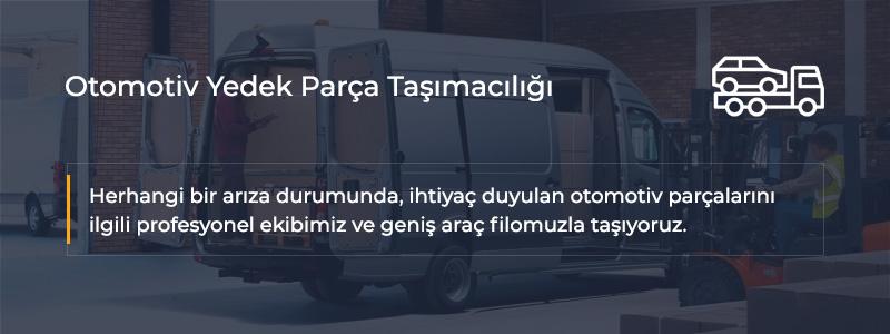 Yedek Parça Taşımacılığı İstanbul